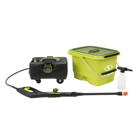 Sun Joe Cordless 1160 Psi 79 Gpm Water Pressure Power