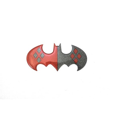 Dc Comics Gl Bat Hqlogo Glitter Harley Batman Logo Large Size Window Sticker Decal