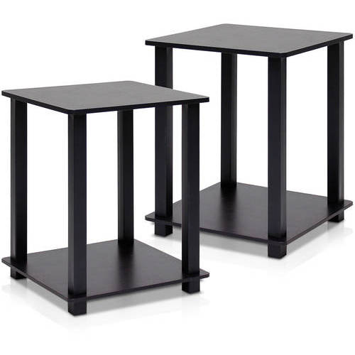 Furinno Simplistic End Table, Set of 2, Multiple Colors