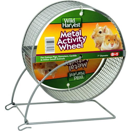 """Wild Harvest 7"""" Metal Pet Activity Wheel"""