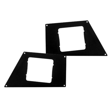 Go Rhino 241743T Driving/ Fog Light Mounting Bracket BR5.5 Use To Mount Rigid Ind. Dually XL Lights On Go Rhino BR10.5 Or BR5.5 Series Bumper; Textured; Black; Mild Steel; Set Of 2 - image 1 de 1