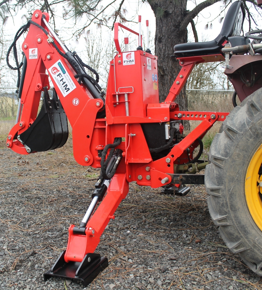 Dig self contained tractor backhoe fh bh walmart