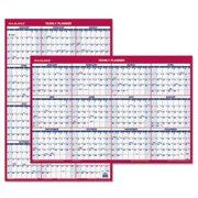 "Ataglance PM2628 Recycled Vertical/Horizontal Erasable Wall Planner, 24"" x 36"", 2016"