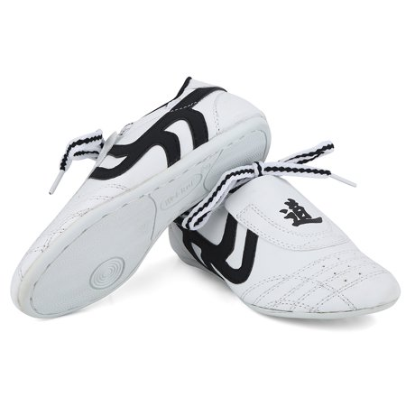 Yosoo Martial Arts Taekwondo Shoes,Unisex Children Teenager Sport Boxing Karate Shoes for Taekwondo, Boxing, Kung Fu and Taichi (Martial Arts Shoes Women)