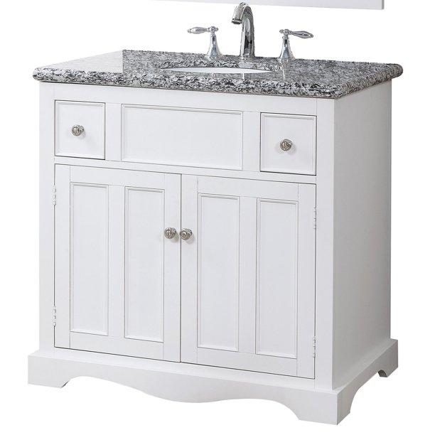 Crawford Amp Burke Morton 35 In Single Bathroom Vanity Walmart Com Walmart Com