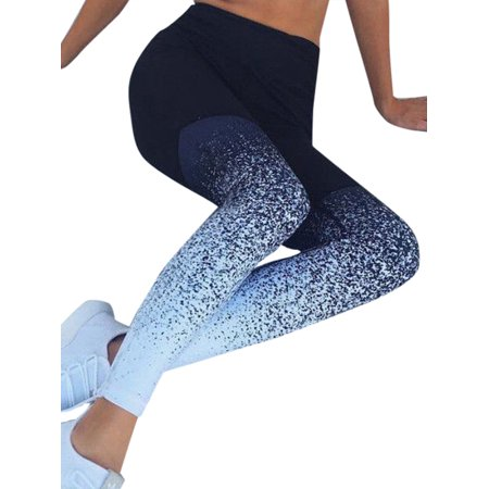 Women's Fitness Sports Yoga Workout Skinny Leggings Pants (Gap Skinny Leggings)