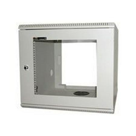 "StarTech.com 10U 19in Wall Mounted Server Rack Cabinet - System cabinet - beige - 10U - 19"" *"