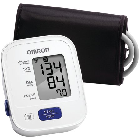 Omron 3 Series Lg. Adult Upper Arm Blood Pressure Monitor BP710N 1