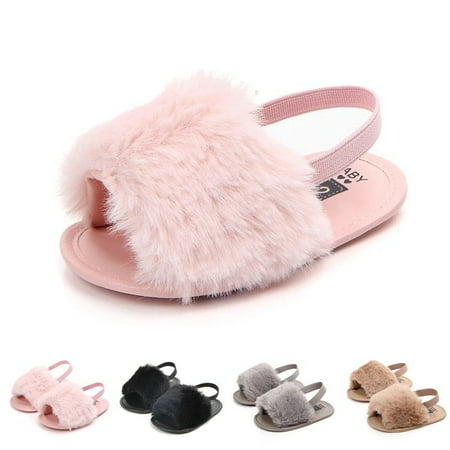 Infant Baby Girl Summer Sandals Anti-slip Flip-flop Toddler Kids Shoes Prewalker Kids Flip Flop