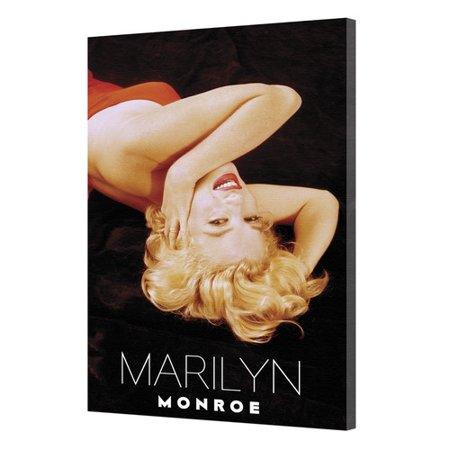 Pyramid America Marilyn Monroe   Lay Back Photographic Print On Wrapped Canvas