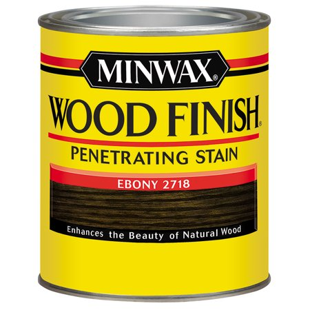 Minwax Wood Finish, Half Pint, Ebony