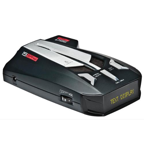 COBRA XRS-9670 PRO 15 Band Police Cop Digital Text Display Radar Laser Detector