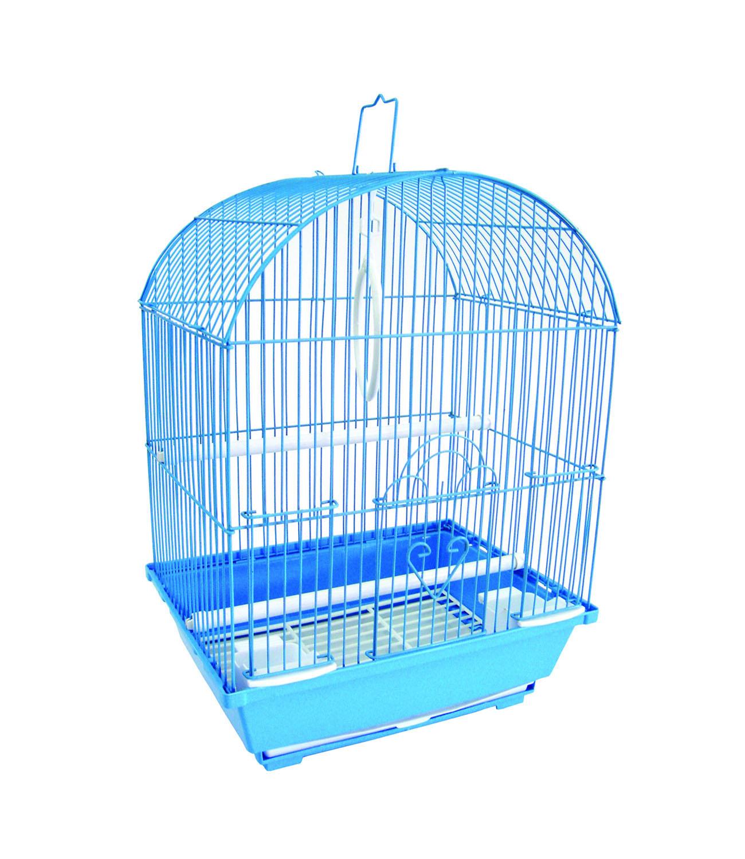 Yml 1304blu Round Top Style Bird Cage Walmart Com Walmart Com