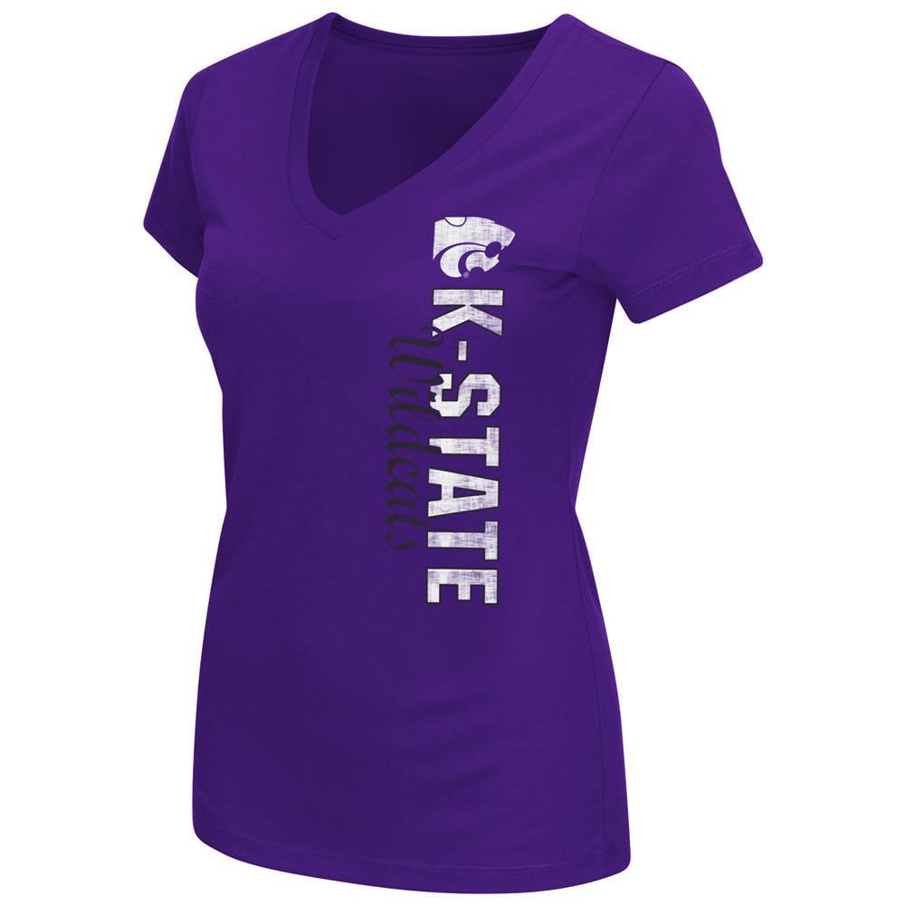 Kansas State University Women's Compulsory Short Sleeve V-Neck Tee
