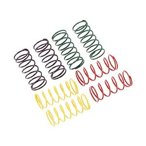 CUSTOM WORKS RC 1820 Big Bore Shock Spring Set Multi-Colored