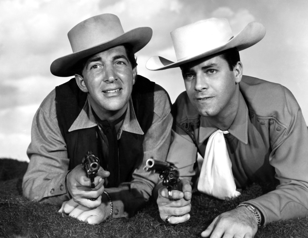 Pardners Dean Martin And Jerry Lewis 1956 Movie Poster Masterprint ...