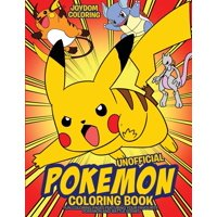 Unofficial Pokemon Coloring Book Deals
