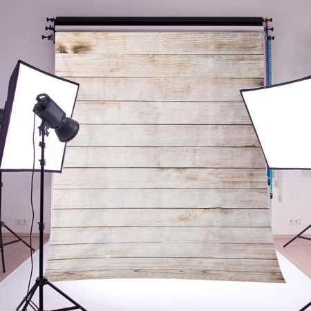 3x5FT Retro Old Wooden Wall Photography Vinyl Backdrop Background Photo Video Studio Props