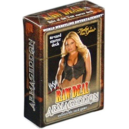 Wwe Trish Stratus (WWE Wrestling Armageddon Armageddon Starter Deck Babe of the Year Trish)
