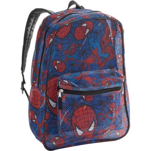 """Spiderman 16"""" Mesh Backpack"""
