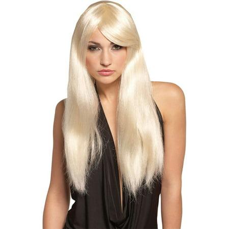 Diva Blonde Wig Adult Halloween Accessory