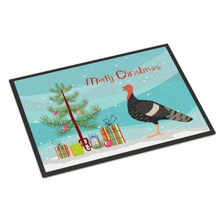 Carolines Treasures BB9354JMAT Marragansett Turkey Christmas Indoor or Outdoor Mat - 24 x 36 in. - image 1 of 1