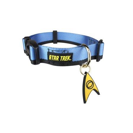 Star Trek Starfleet Blue Uniform Dog Collar