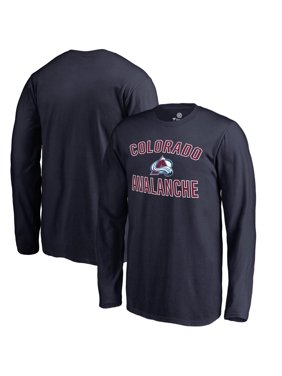 Colorado Avalanche Fanatics Branded Youth Victory Arch Long Sleeve T-Shirt - Navy