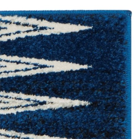 Safavieh Evoke 3' X 5' Power Loomed Rug in Royal and Ivory - image 6 of 8