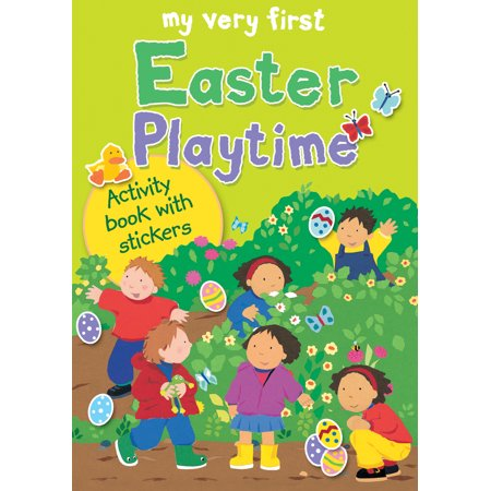 Alex Sticker - My Very First Easter Playtime : Activity Book with Stickers
