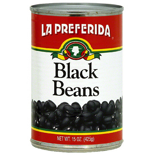 La Preferida Black Beans, 15 oz (Pack of 24)