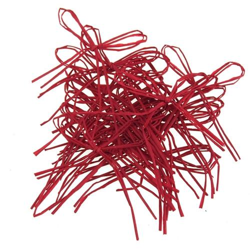 Paper Straw Bow Cork Jars, 2-Inch, 24-Piece