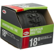 """Bell Sports Traction Mountain Bike Tire, 18"""" x 1.75-2.25"""", Black"""