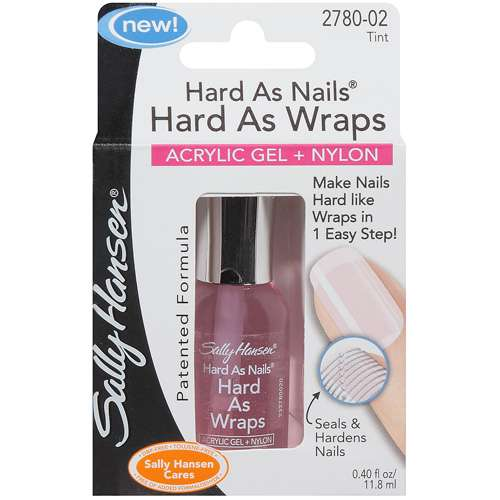 Sally Hansen: Tint Hard As Nails Hard As Wraps Nail Polish, .4 Fl Oz