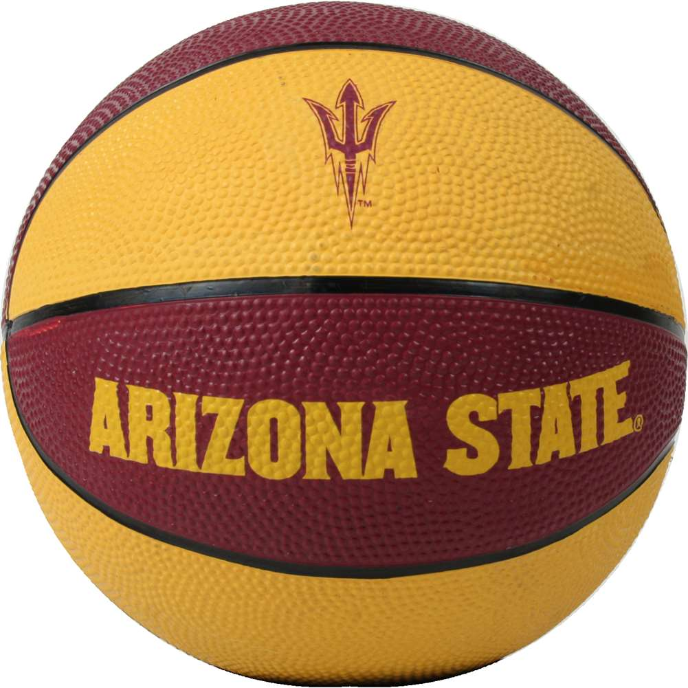 Arizona State Sun Devils Mini Rubber Basketball