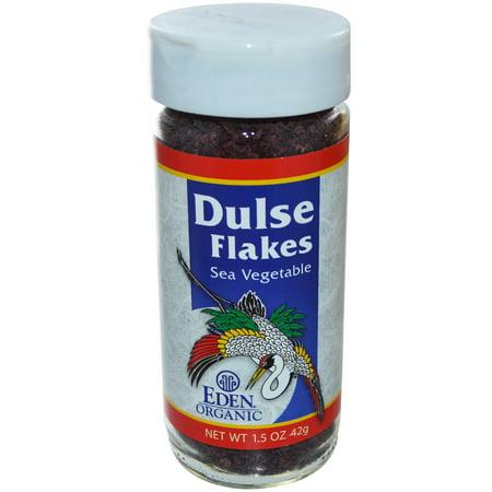 Eden Foods, Organic, Dulse Flakes, Sea Vegetable, 1.5 oz (pack of (Organic Sea Vegetables)