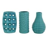 Vases Set Of - Cylinder floor vase silver