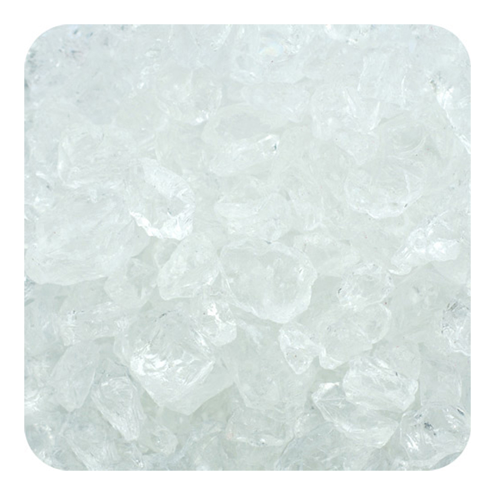 Colored ICE Real Glass Gems, Scatters Box 20 lb (9.09 kg) 4 - 10 mm