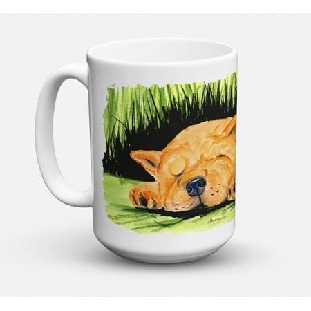 Chow Chow Dishwasher Safe Microwavable Ceramic Coffee Mug 15 ounce SS8526CM15