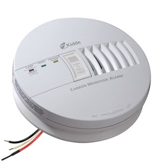 Kidde Co Detector - Kidde AC Hardwired Operated Carbon Monoxide Alarm KN-COB-IC