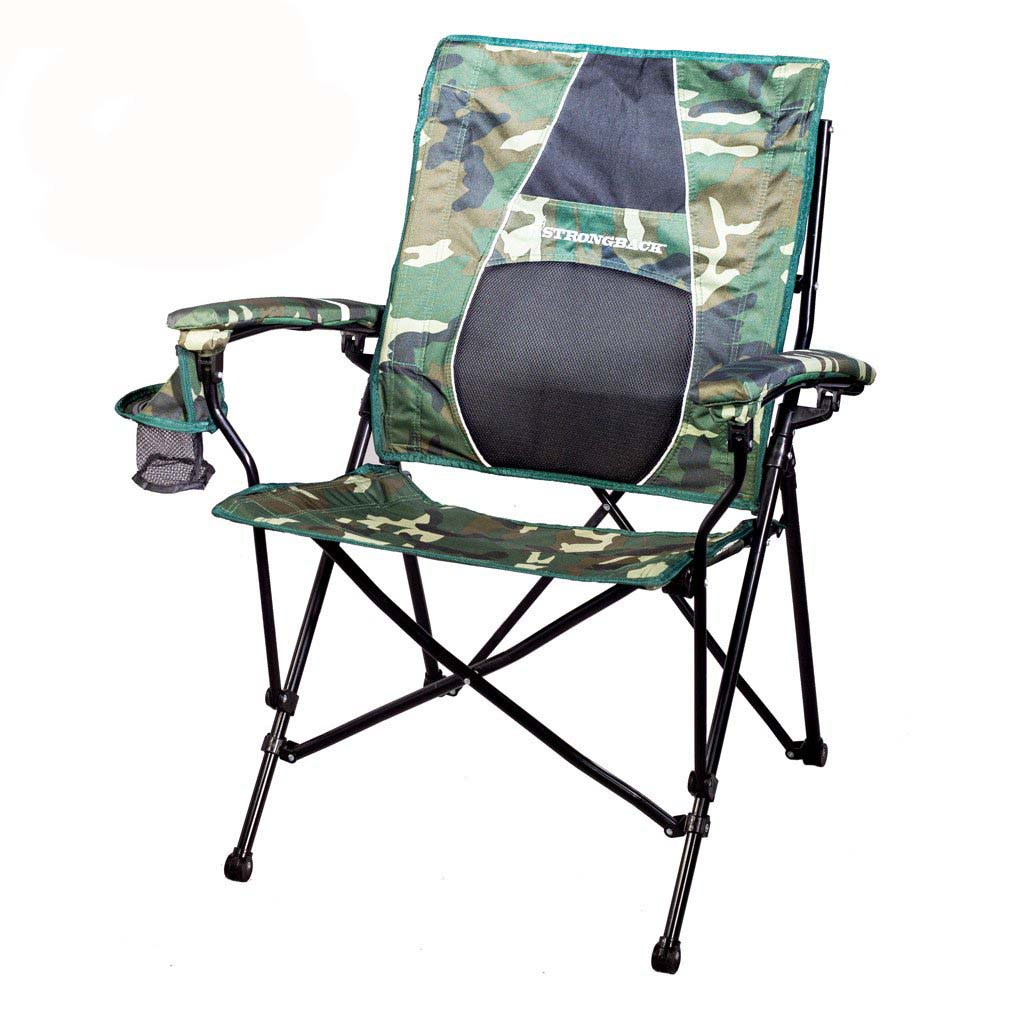Strongback Elite Folding Camp Chair with Superior Back Support