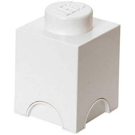 LEGO Storage Brick Toy Box, White