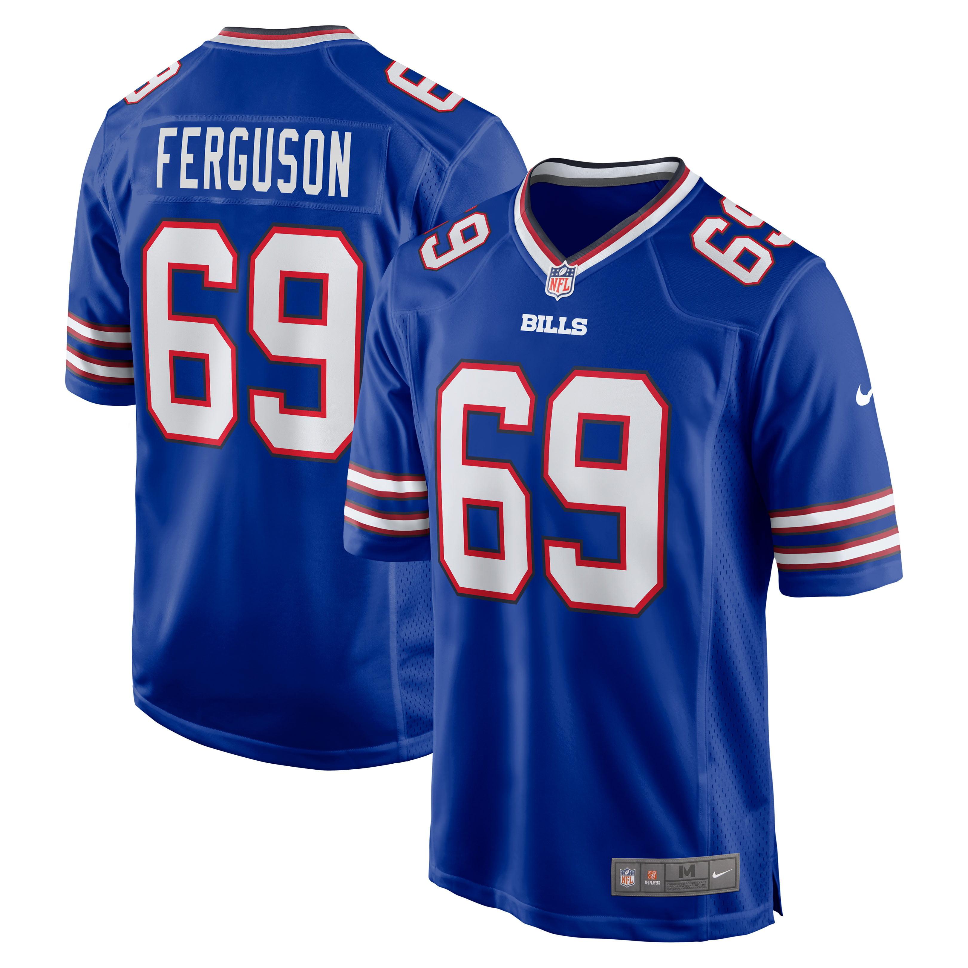 Reid Ferguson Buffalo Bills Nike Game Jersey - Royal - Walmart.com
