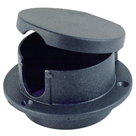 - Perko 1057DP0BLK Rope Deck Pipe - Black