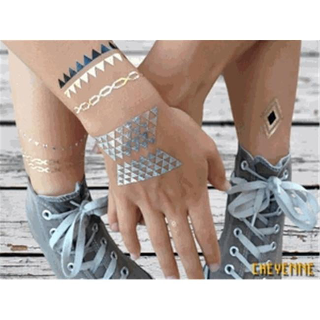 Youphoreah LINDA-011-2 Body Art Cheyenne Style Jewelry Tattoos