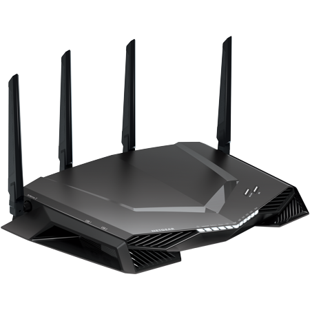 NETGEAR Nighthawk AC2600 Dual Band Pro Gaming WiFi Router (XR500-100NAS), Black