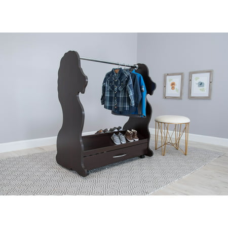 Ace Baby Furniture Lion Mobile Dress-Up Clothes & Shoes Organizer