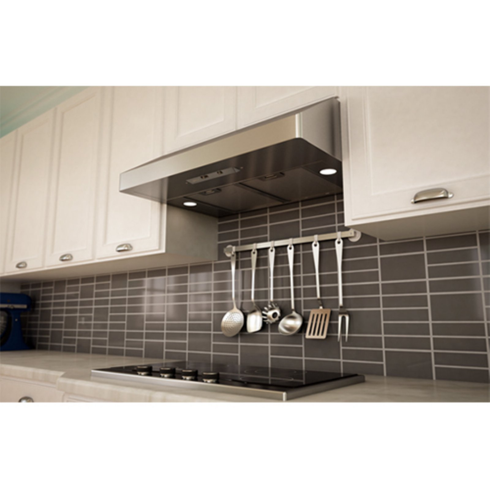 Zephyr 30W in. Gust Under Cabinet Range Hood with Baffle Filters ...