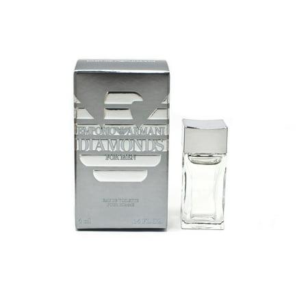Emporio Diamonds by GIORGIO ARMANI .13oz/4ml Mini Edt Splash for Men