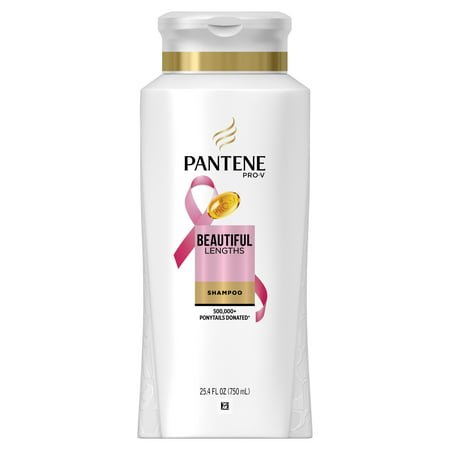 Pantene Pro-V Beautiful Lengths Strengthening Shampoo, 25.4 fl oz